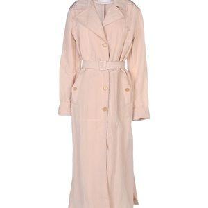 New Aglini rain trench coat